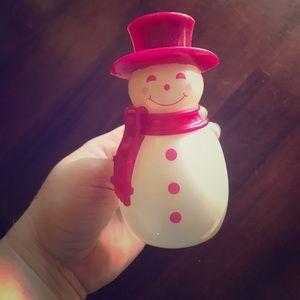 Bath and Body Works Snowman Wallflower